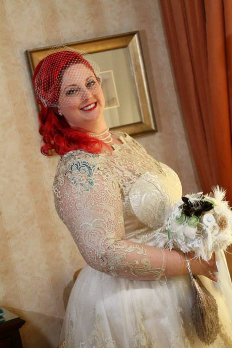 plus size bridal gown