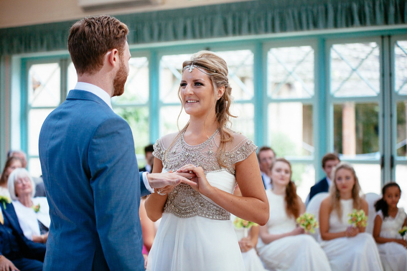 An Art Deco and Travel Inspired Wedding for a Bohemian Bride | Plus ...