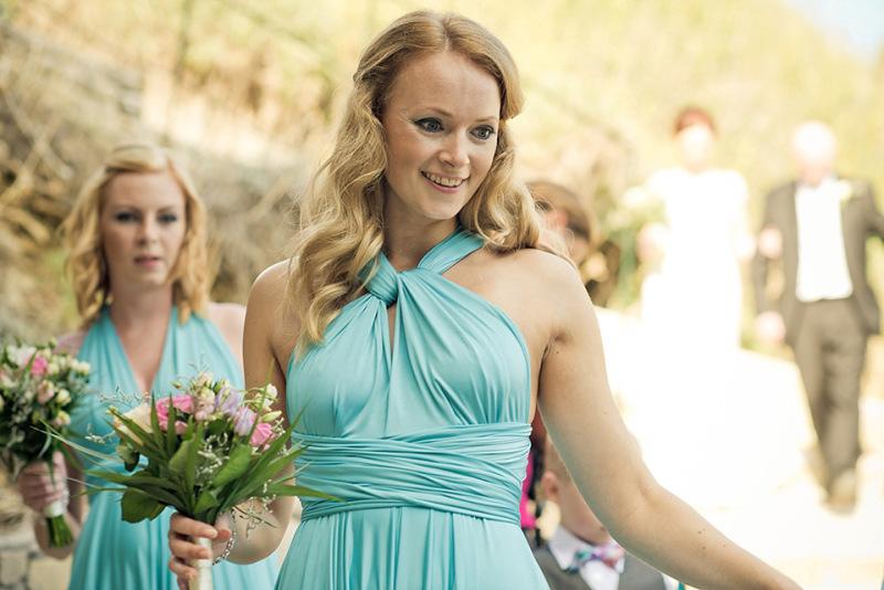 A Ronald Joyce Gown for an Elegant, Seaside Destination Wedding in ...