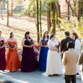 fall wedding at Frontier Cultural Museum in Staunton Virgina