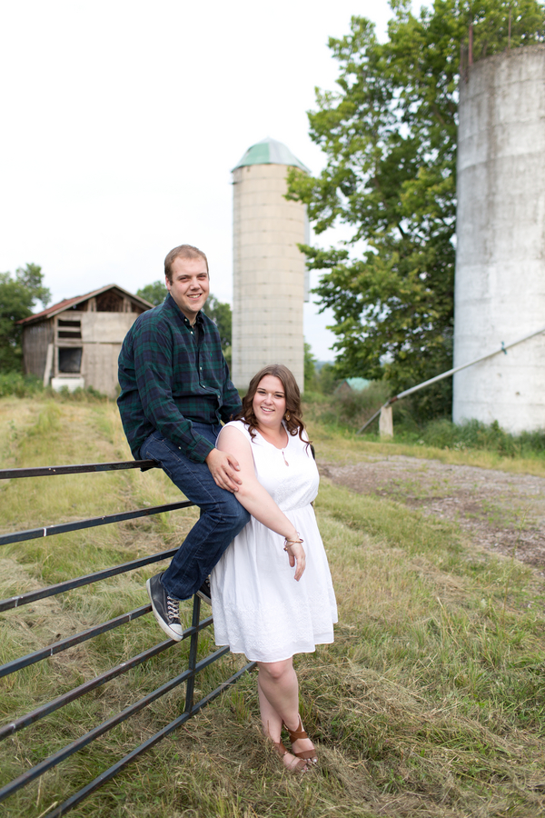 Rustic Farm Engagement Session