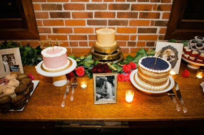 wedding cake, romantic, rustic, surprise wedding