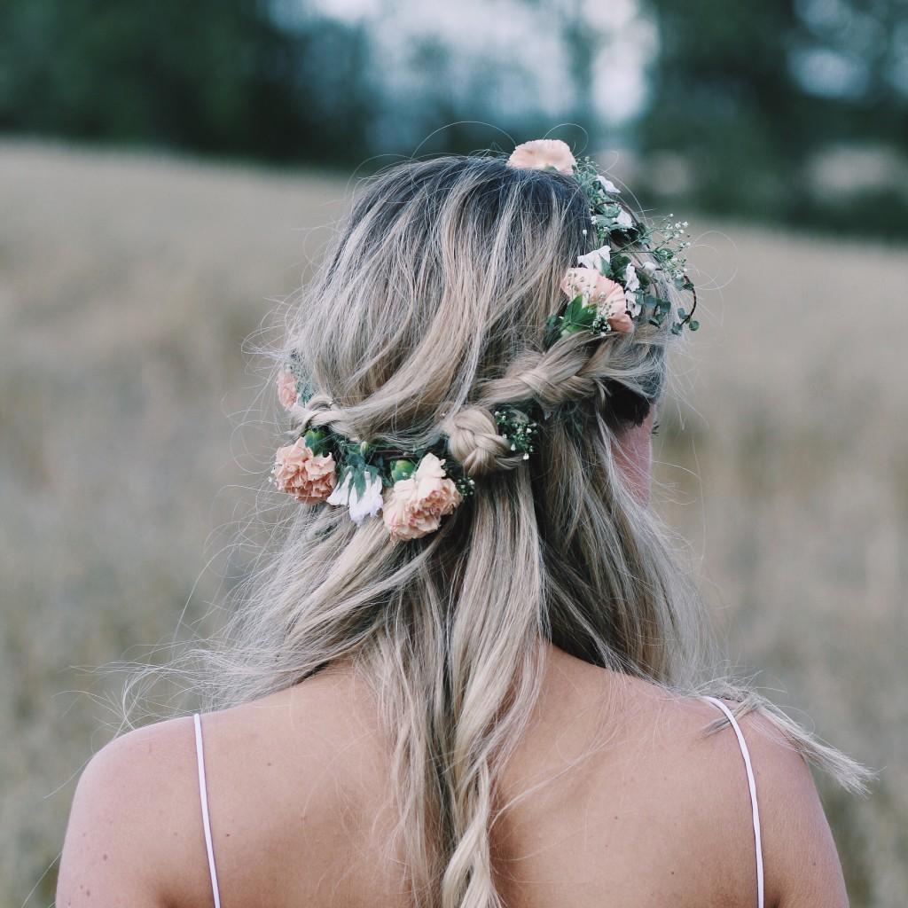 Blush Wedding Hair Accessories