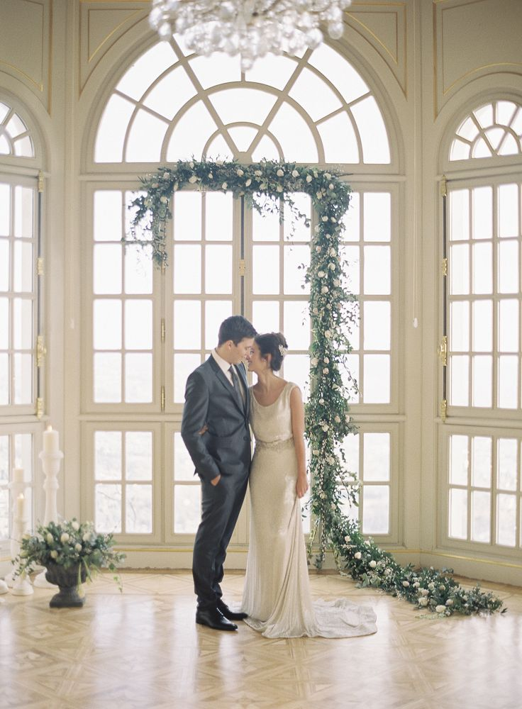 Elegant French Chateau Wedding Style