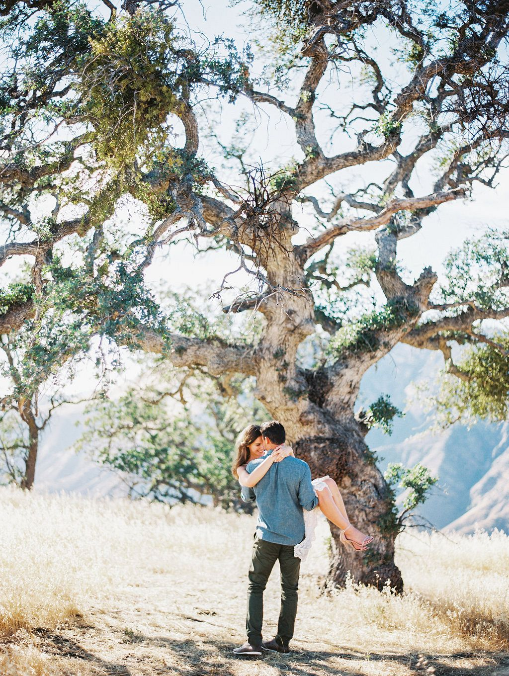 Luminous Engagement Session in Santa Ynez