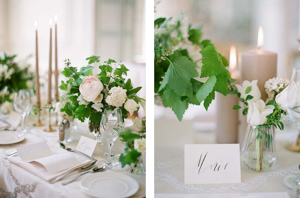 Setting the Table: Elements for a Tablescape by Greg FInck Photography | Wedding Sparrow