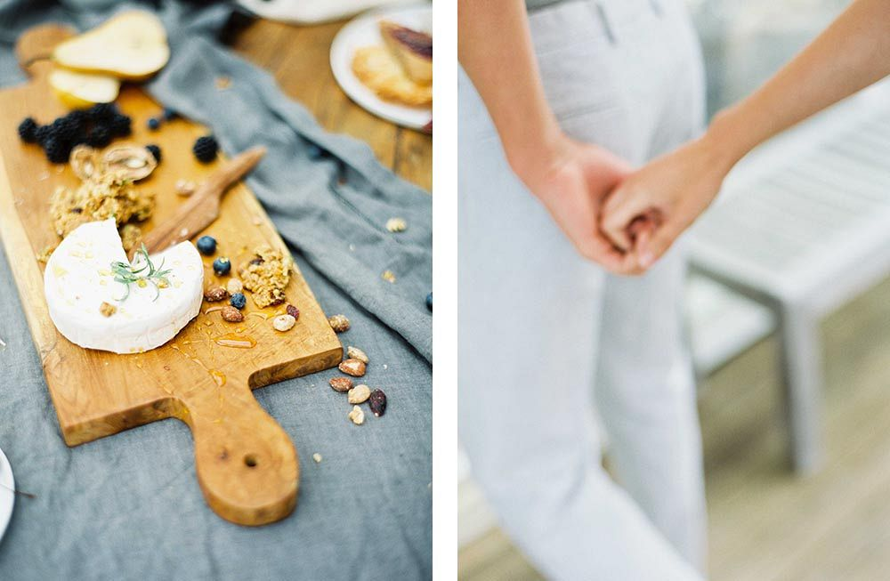 At Home Organic Engagement Session by Donny Zavala Photography | Wedding Sparrow