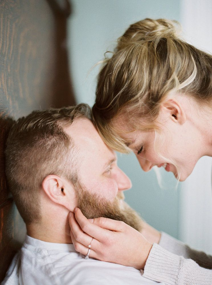 Brandy and Joe's Casual At-home Engagement