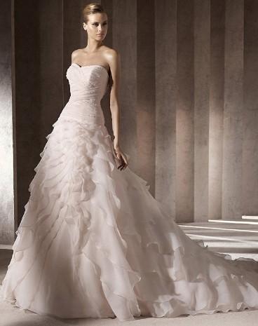 wonderful wedding dress
