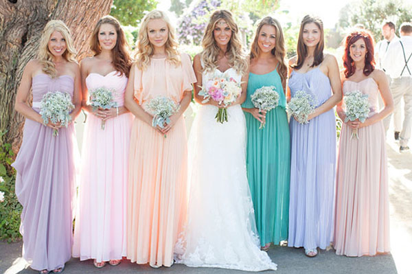 Tips For You To Choose Your Bridesmaid Dresses - Plus Size Wedding ...