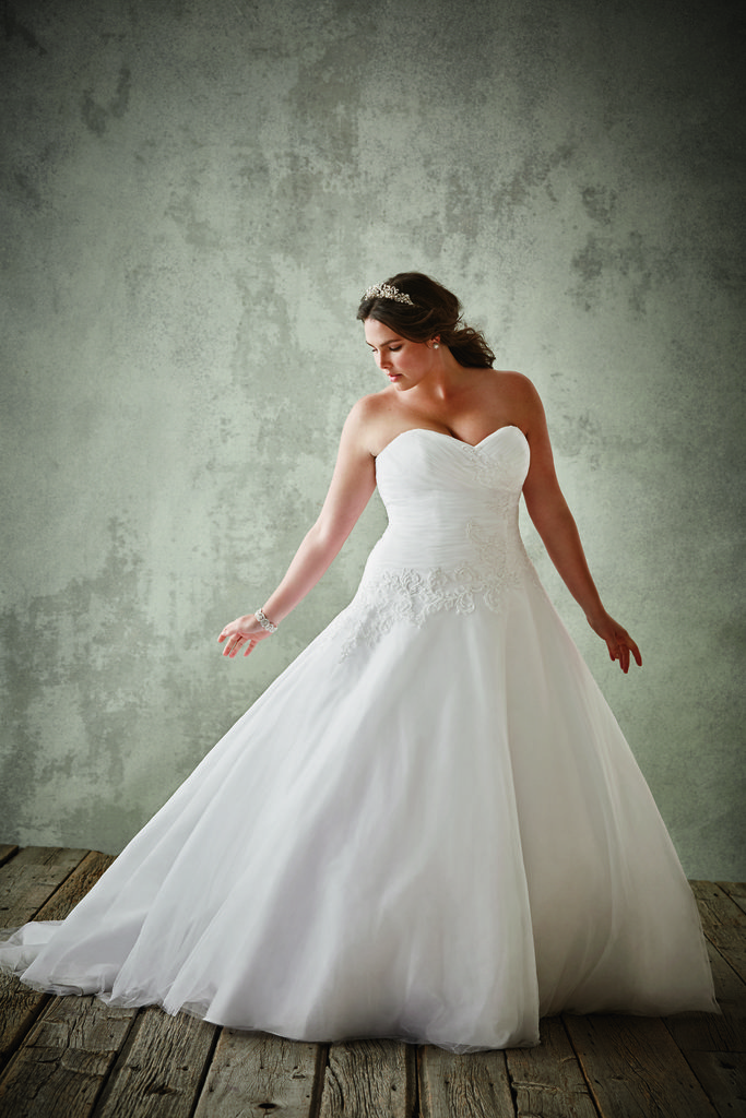 The Best Place To Snag A Gorgeous Plus Size Wedding Dress On A Budget