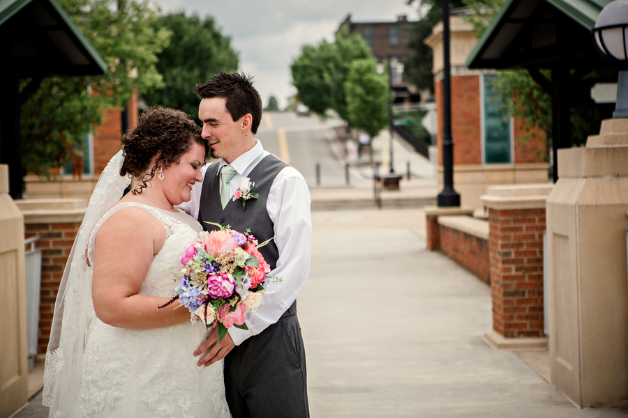 Real plus size wedding