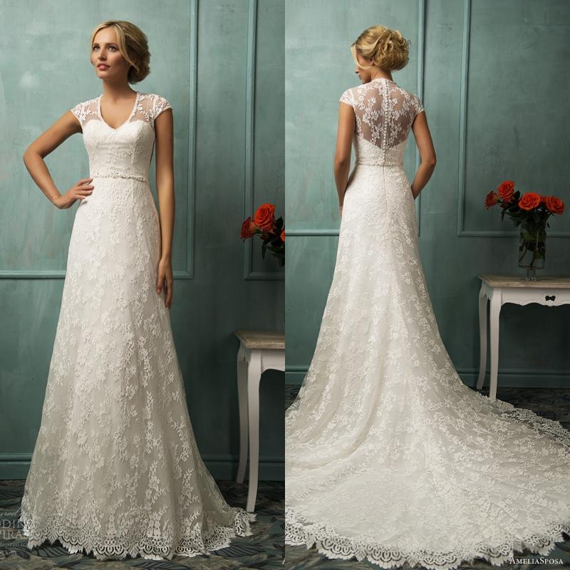 Simple Elegant Wedding Dresses Collections