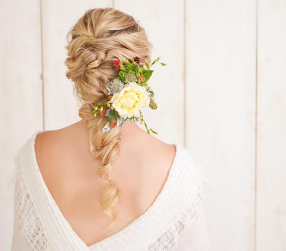 5 excellent wedding hairstyles make you more attractive