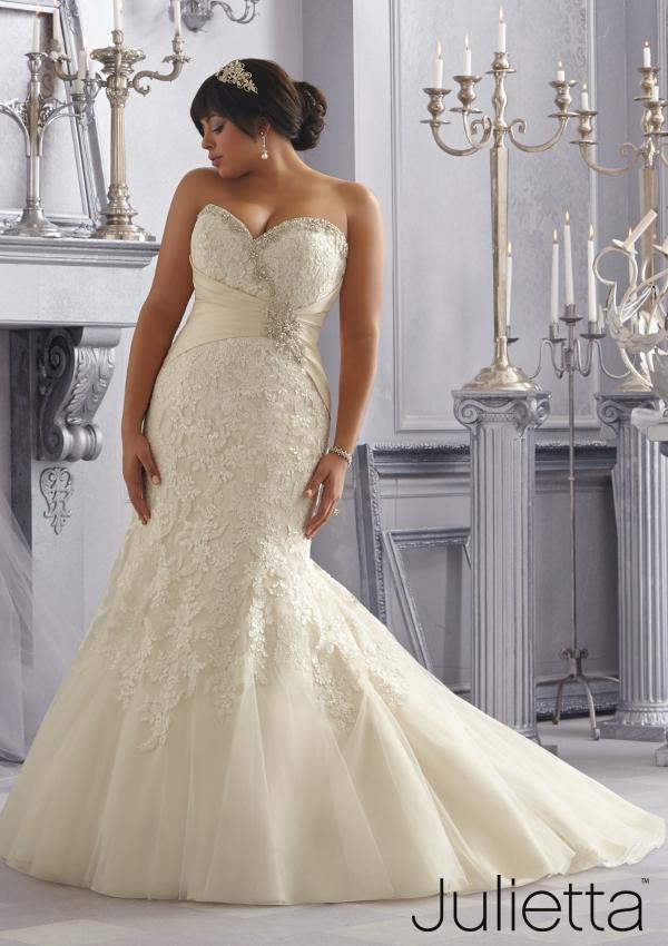 Julietta Special Bride Collection Plus Size Wedding Dress Reviews