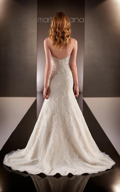 Martina Liana strapless wedding dress