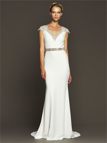 The best contemporary wedding dresses for stylish women - Plus Size ...