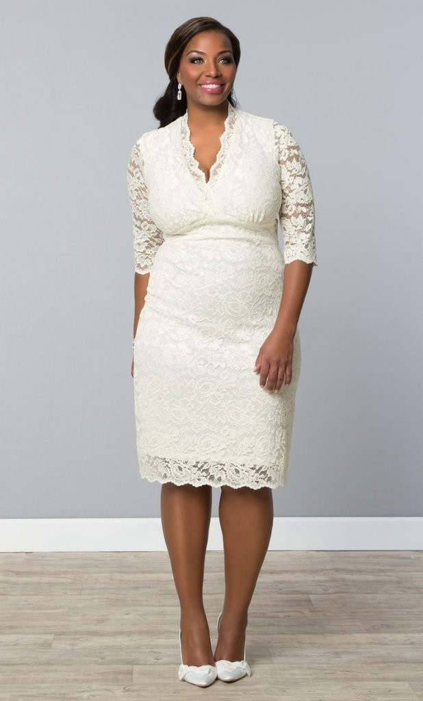Stunning Plus Size Wedding Dresses For Curve Girl