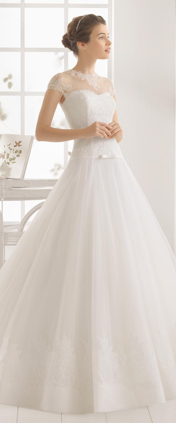 2016 brides wedding dresses collection aire barcelona for Wedding dresses in barcelona spain