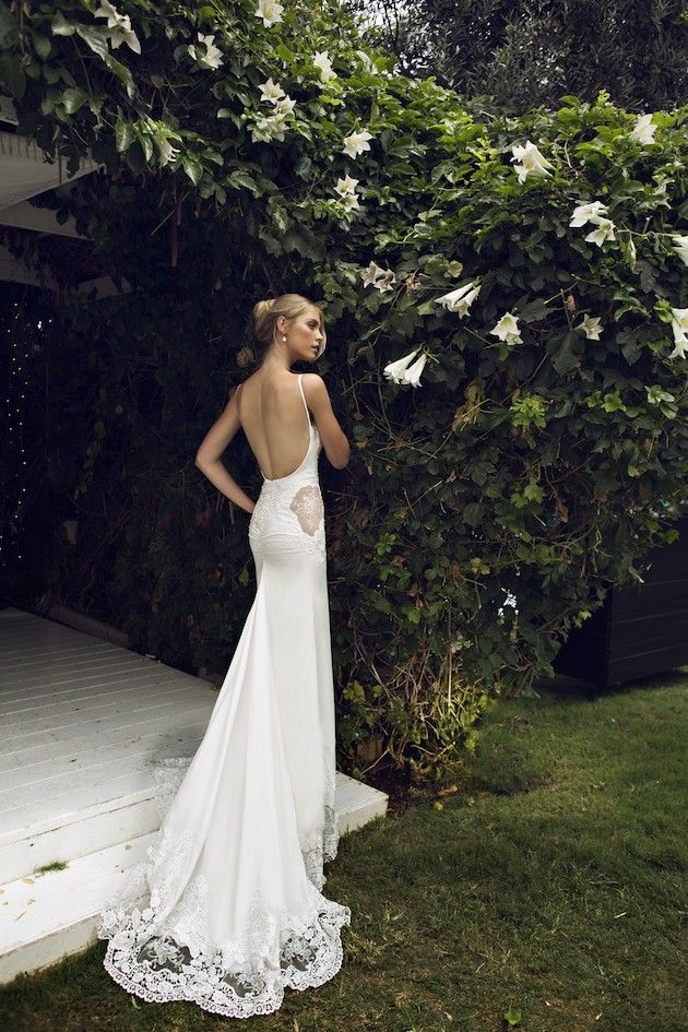 Low back wedding dress is extremely sexy plus size for Lace low back wedding dress
