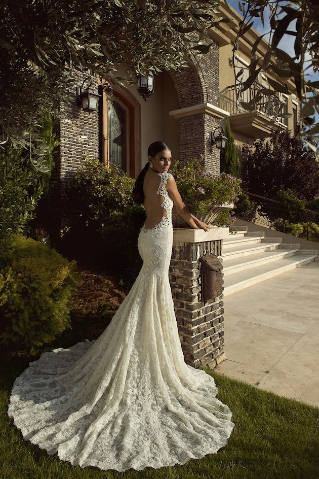 Low Back Wedding Dress Is Extremely Sexy Plus Size