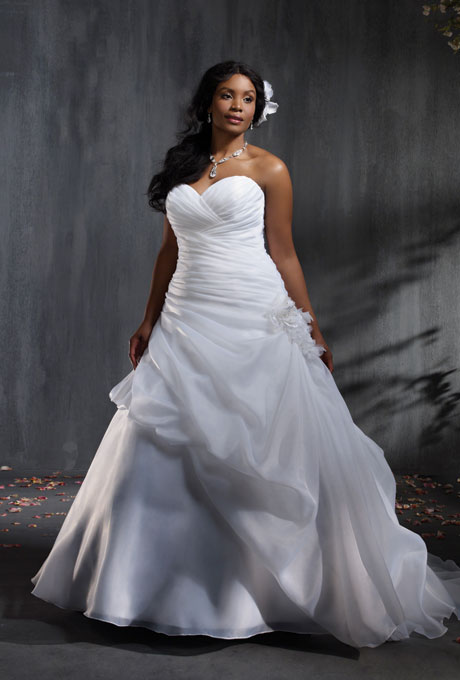 Top10 Chic Plus Size Wedding Dresses
