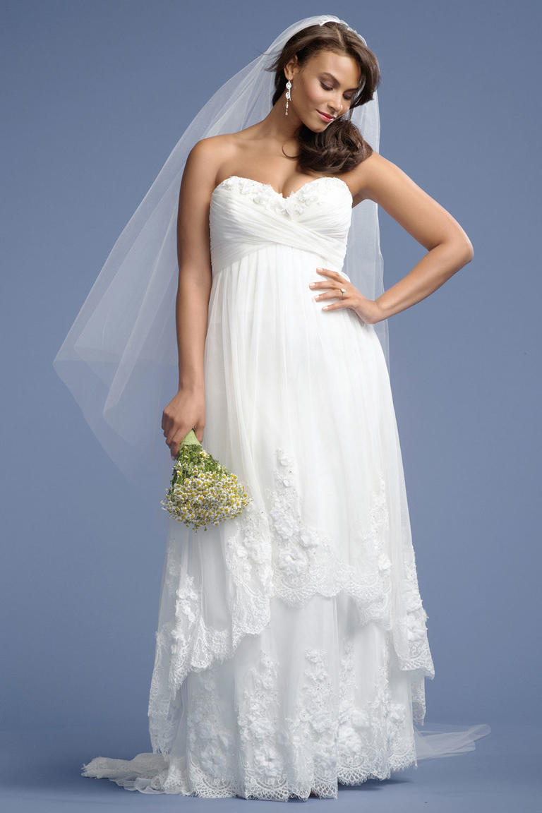 8 fashion style plus size wedding dresses for curve girls 05
