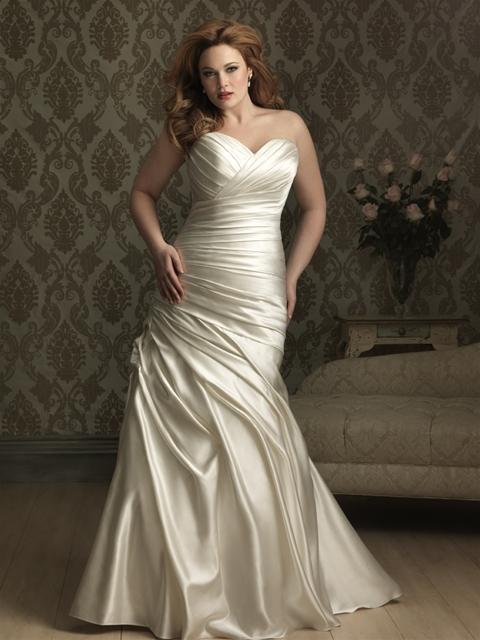 Allure bridal wedding dresses 2016 collection plus size for Cheap allure wedding dresses