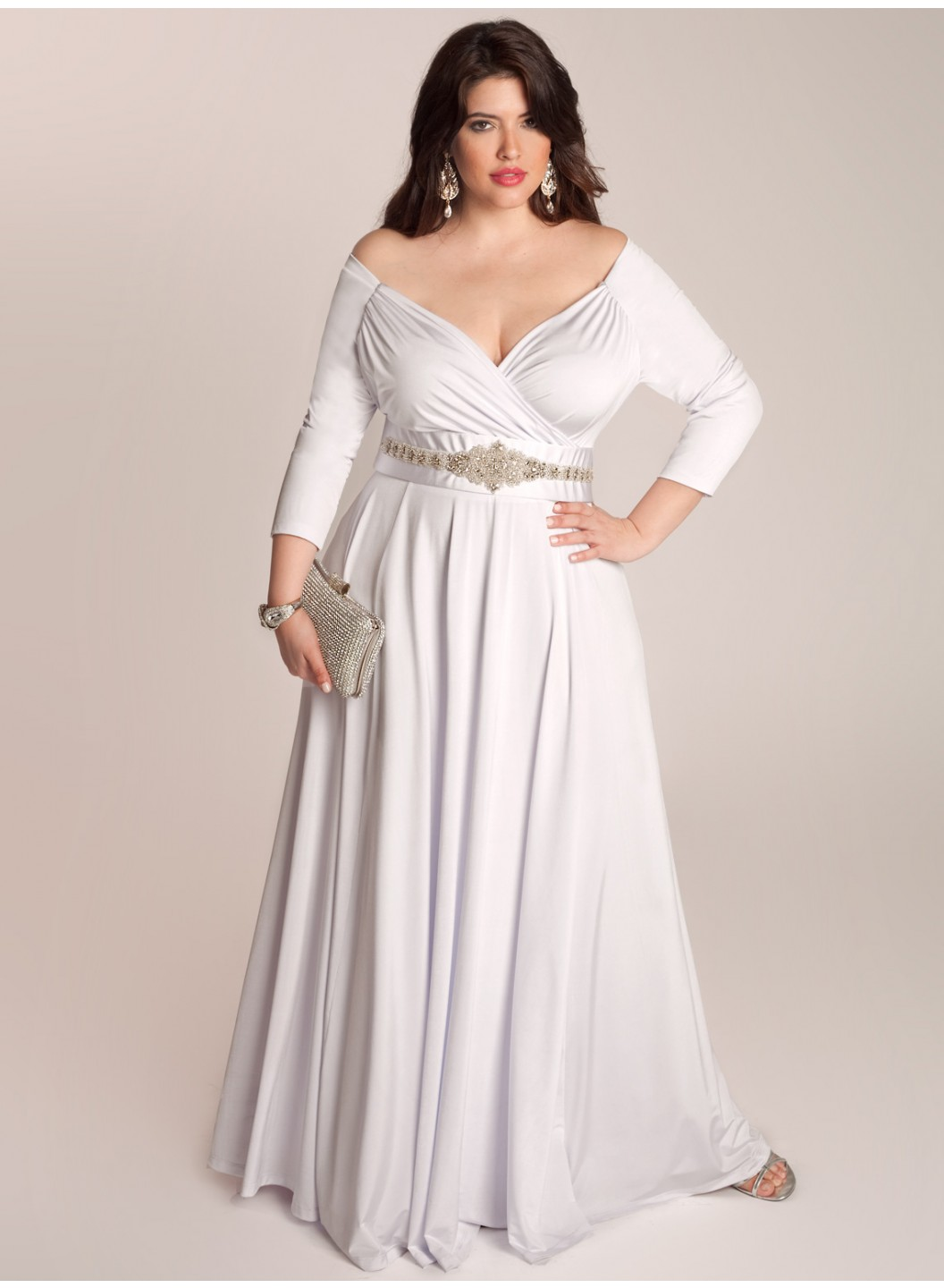 The Best Choose For Curvy Brides Plus Size Wedding Dresses Plus