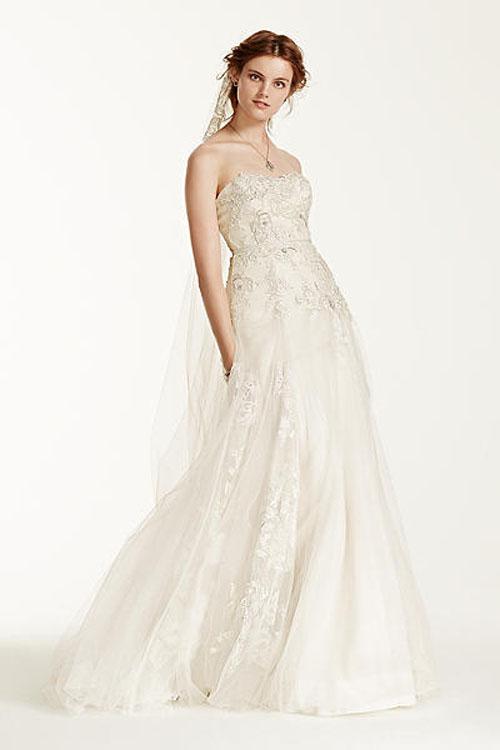 Top10 budget simple wedding dresses 03