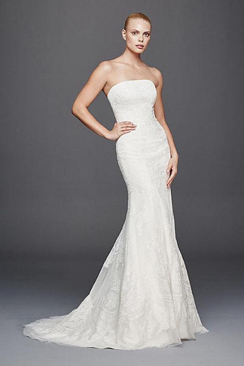 Top10 budget simple wedding dresses 10