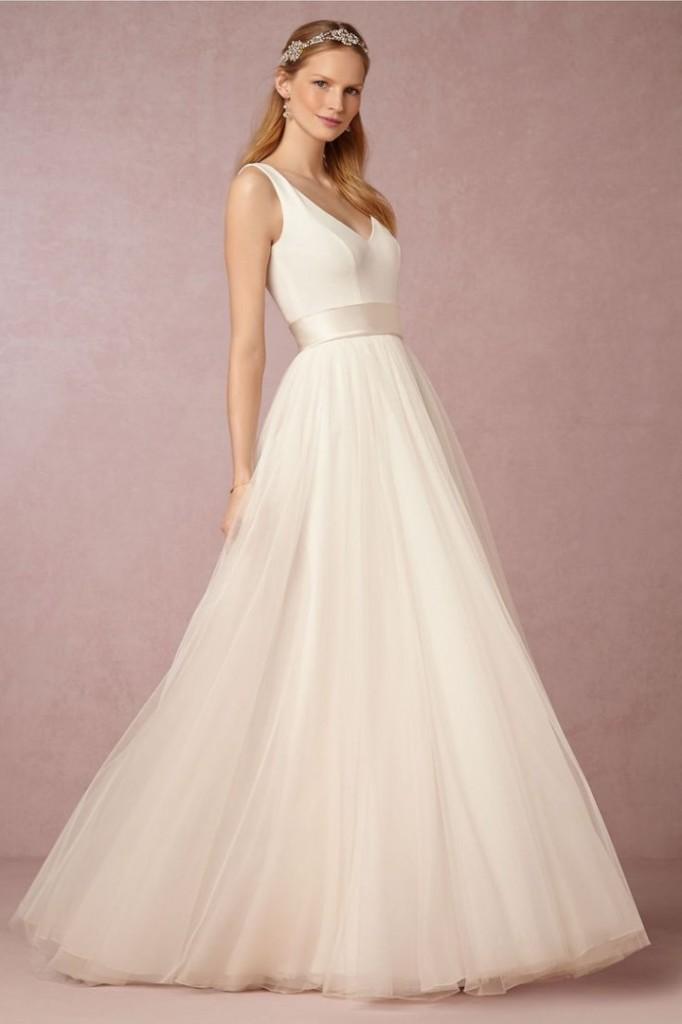 Stella York A-neckline wedding dresses 04