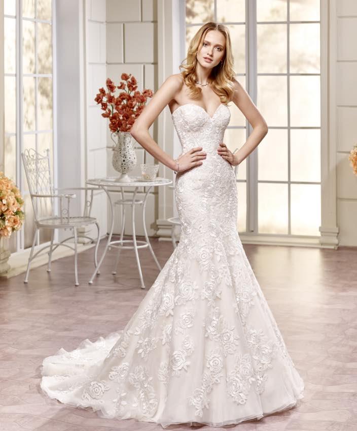 Eddy k newest elegant wedding dresses collection plus for Eddy k wedding dress