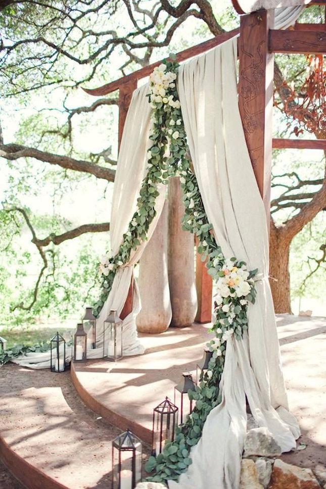 8 sweet woodland wedding ideas 05