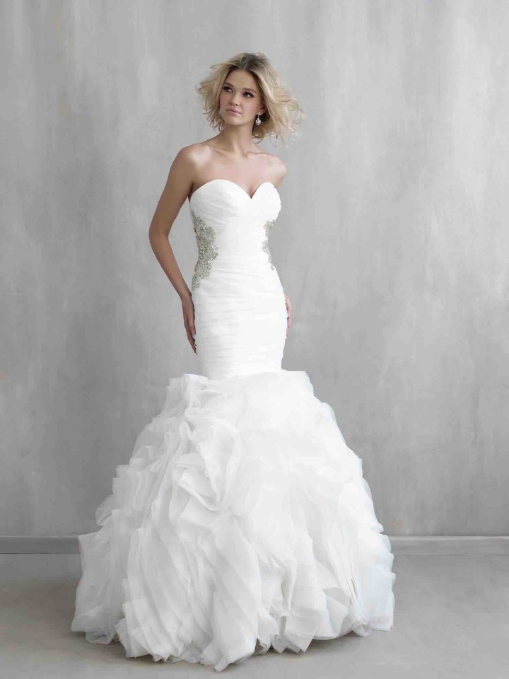 Newest fashion madison james wedding dresses plus size for Madison james wedding dress prices