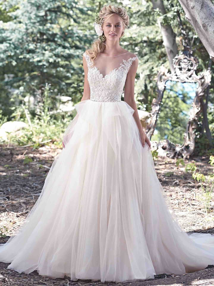 Modern prestigious designer wedding dresses plus size wedding dress