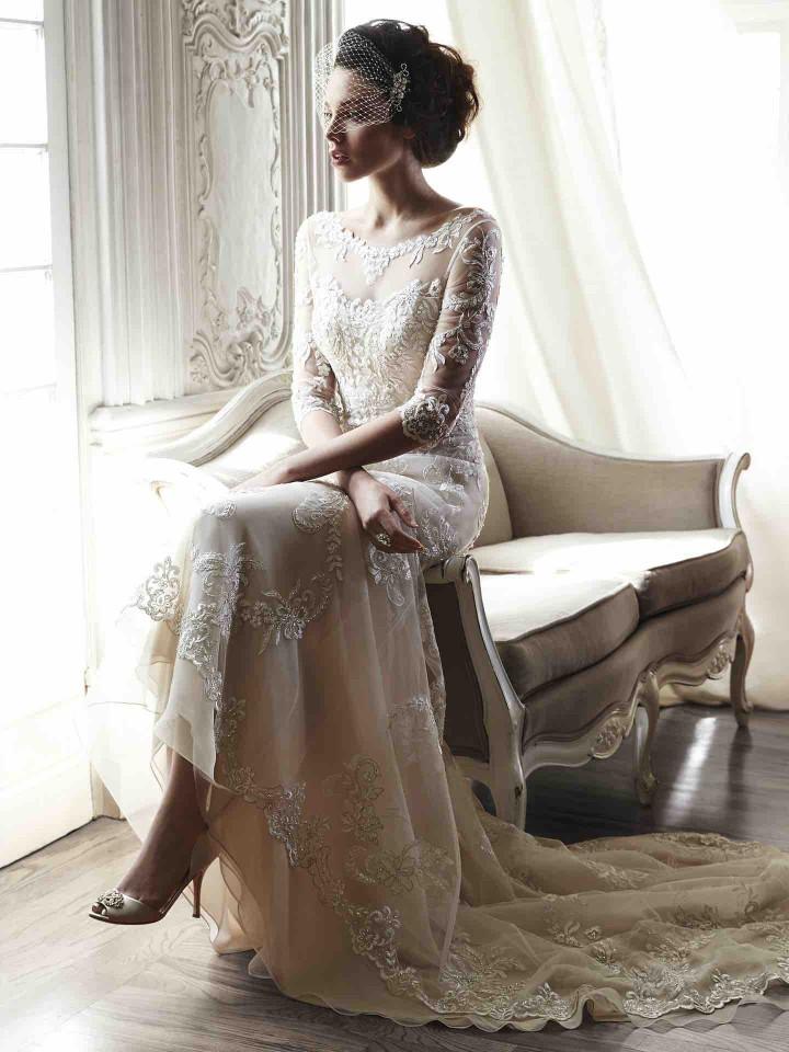 12 Chic and luxury wedding dresses 08