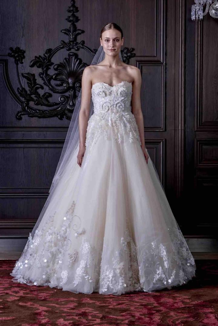 Monique Lhuillier Wedding Dresses 2016 Collection Plus Size