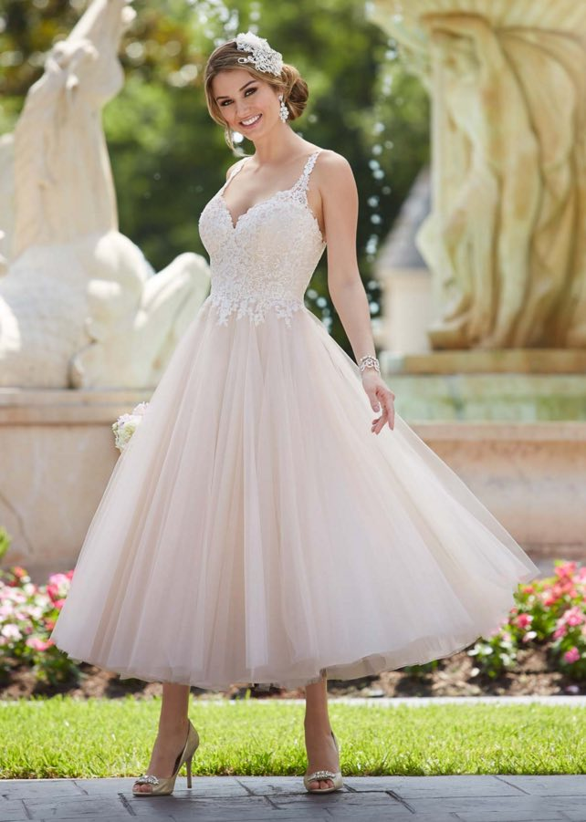 Stella York A-neckline wedding dresses 03