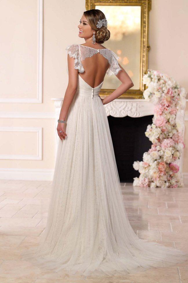 Stella York A-neckline wedding dresses 09