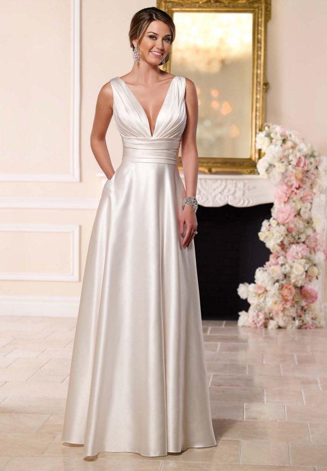 Stella York A-neckline wedding dresses 10