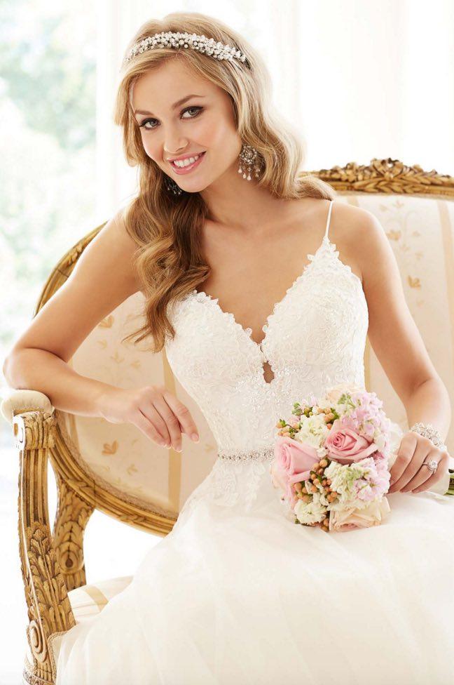 Stella York A-neckline wedding dresses 02