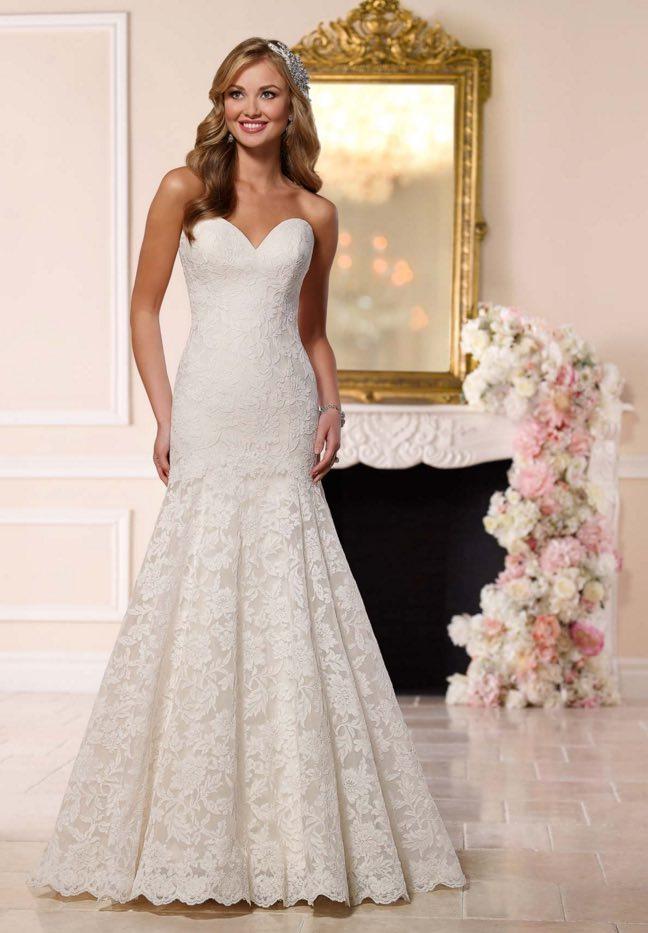Stella York A-neckline wedding dresses 05