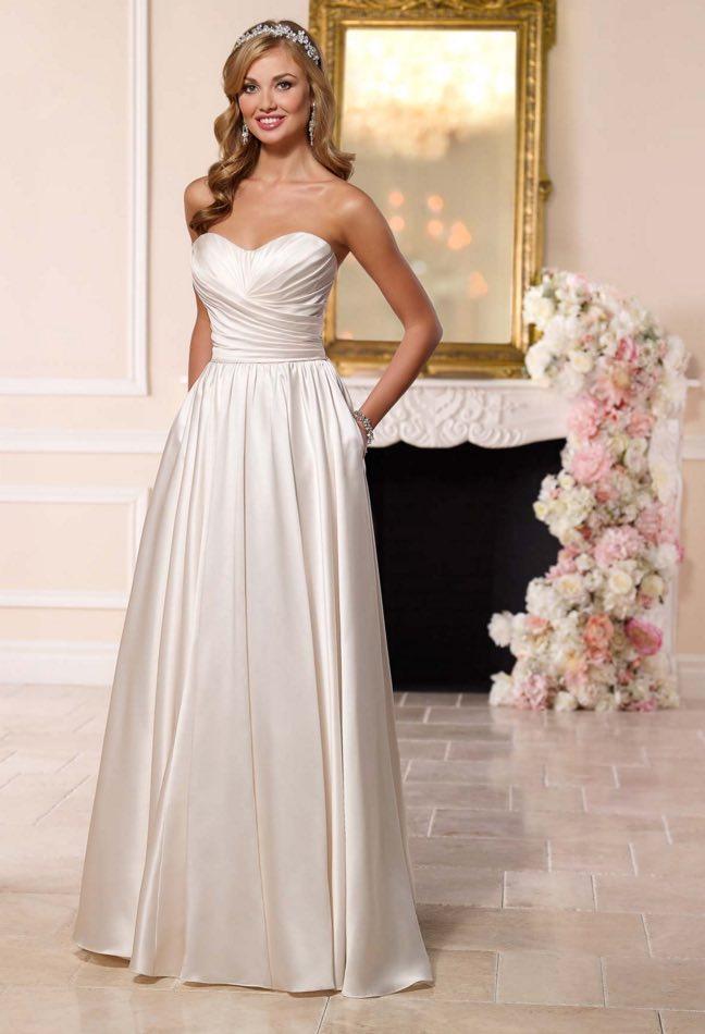 Stella York A-neckline wedding dresses 06