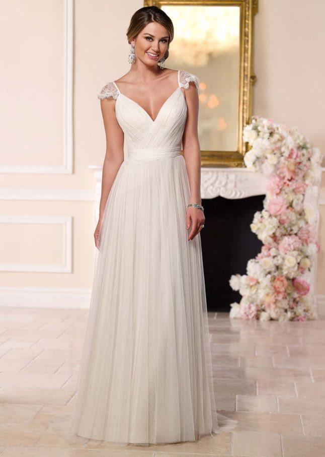 Stella York A-neckline wedding dresses 08