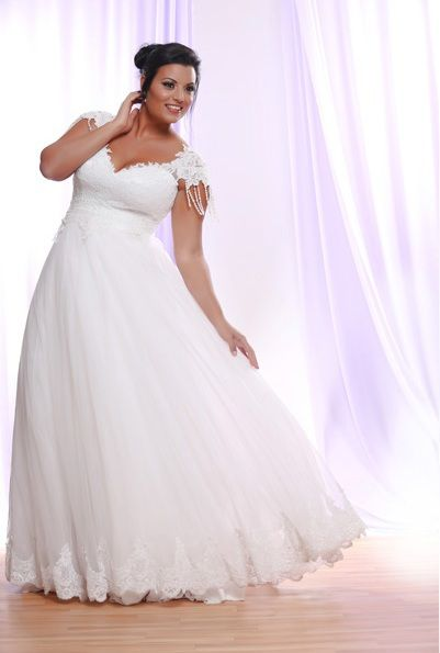 Top5 sexy plus size wedding dresses 02