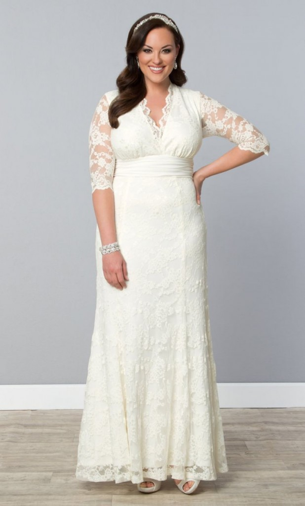 6 cheap plus size wedding dresses