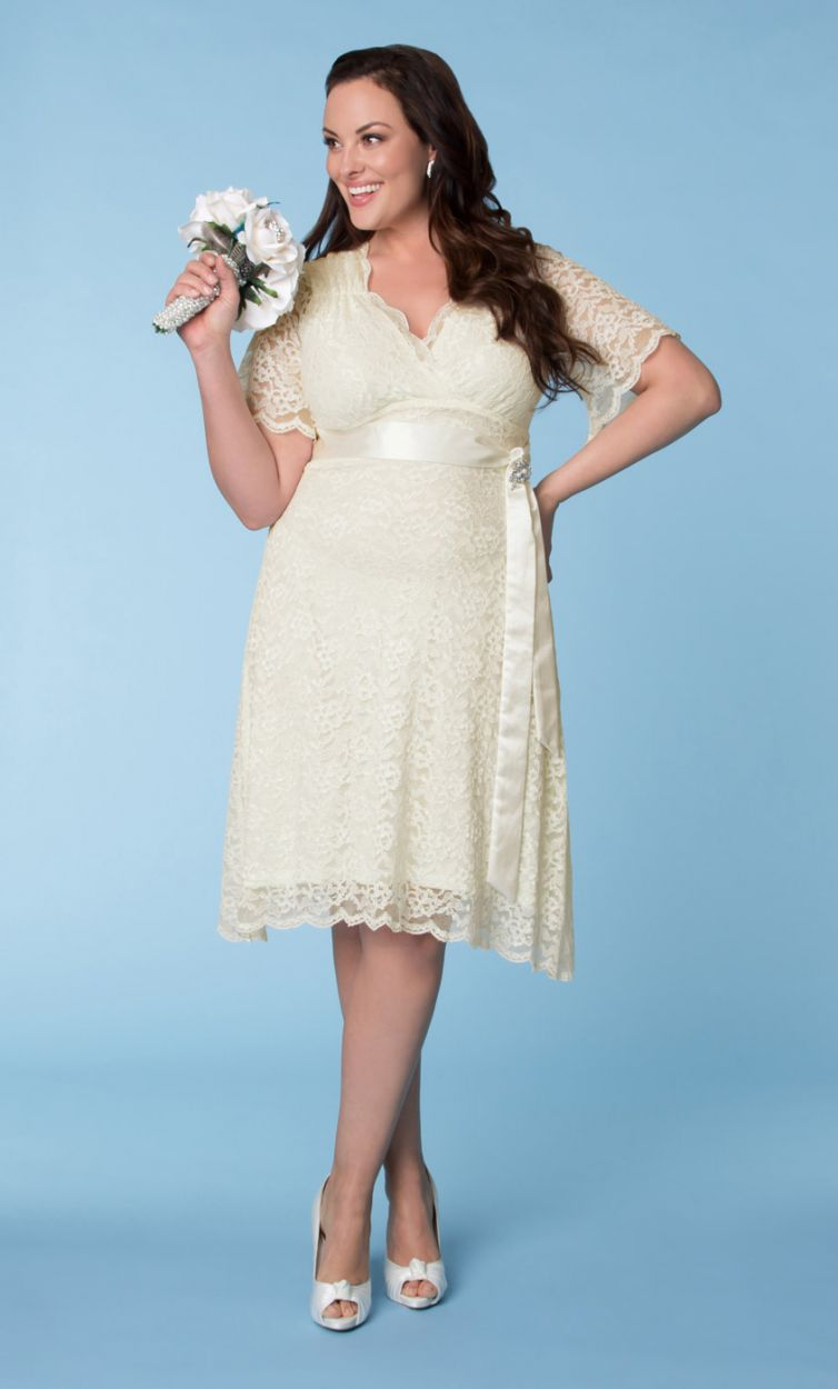 Budget Plus Size Wedding Dresses Curve Girls Must-Have One | Plus ...
