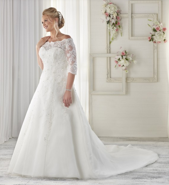 Top5 sexy plus size wedding dresses 05