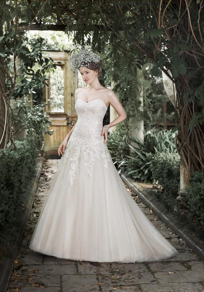 Top10 cheap wedding dresses under $1000 09